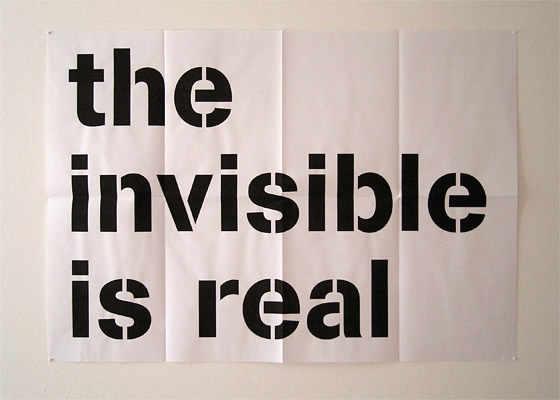Ian Whittlesea - The Invisible is Real